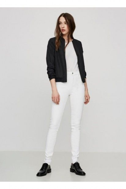 calça VM NINE Jeans/Branco
