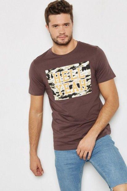 T-Shirt Jack Jones CAMOU
