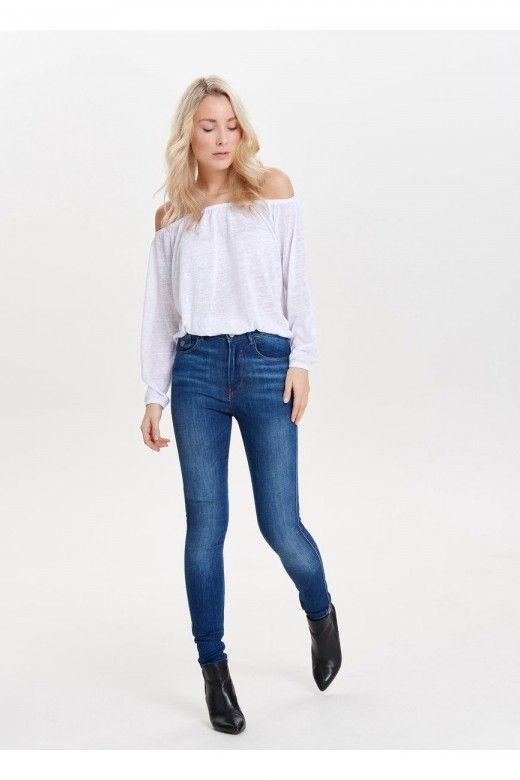 Calça ONLY PIPER HIGHWAISTED Jeans