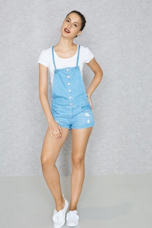 combishort Jeans ONLY KIMBER Curto