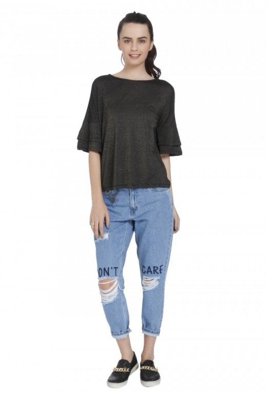 Top ONLY MYRA 2/4 Frill