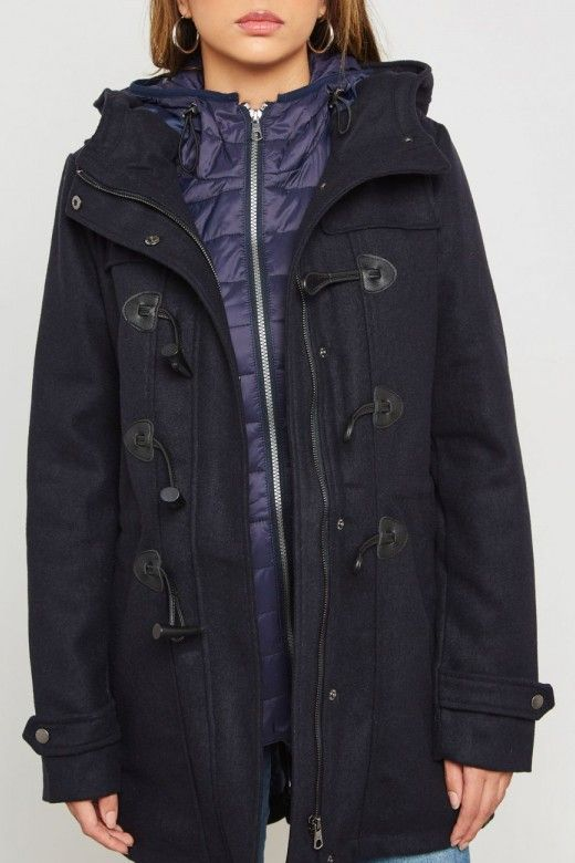 ANORAK MULHER CILANA WOOL DUFFLE ONLY