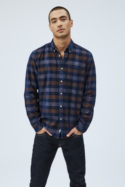 Camisa Homem TOLLAND Pepe Jeans