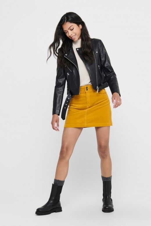 Blusão Mulher VALERIE FAUX LEATHER ONLY