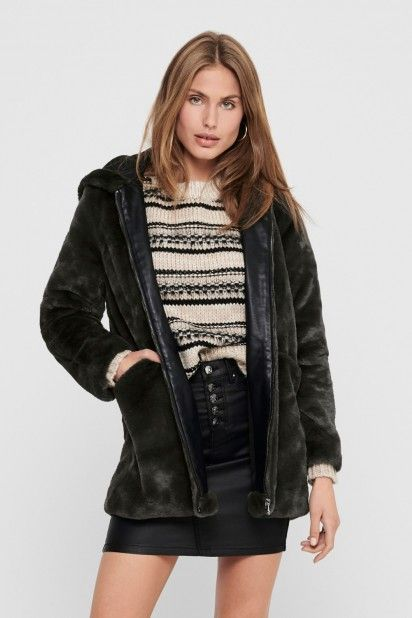 Casaco Mulher MALOU FAUX FUR ONLY