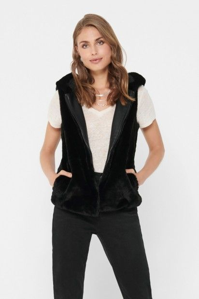 Colete Mulher MALOU FAUX FUR ONLY
