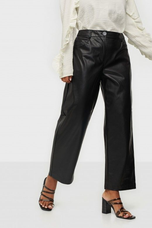 Calça Mulher GLORIA FAUX LEATHER ONLY