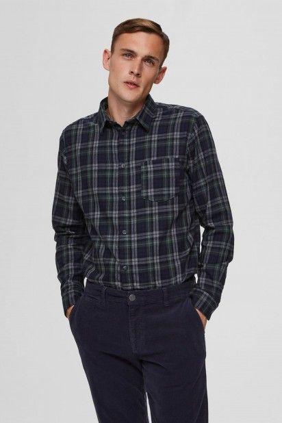 Camisa Homem REGMATTHEW Xadrez SELECTED