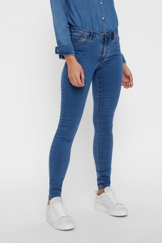 Calça Mulher Jeans FLEX SLIM VERO MODA