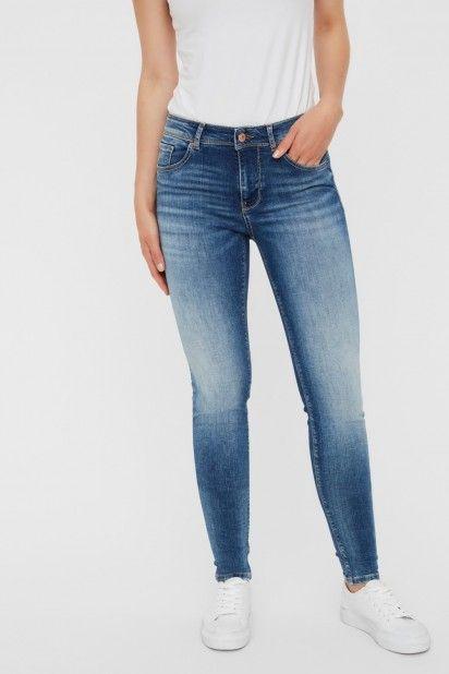 Calça Mulher Jeans LUX MR SLIM VERO MODA Noos