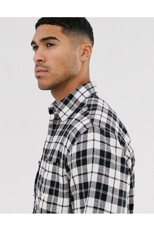 Camisa Homem JAKE Xadrez S/Fit Jack & Jones