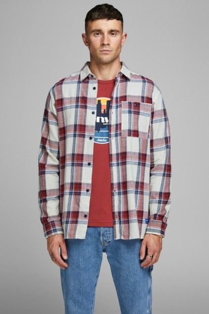 Camisa Homem HENRI Xadrez Jack Jones
