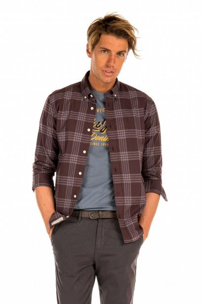 Camisa Homem JAX CHECK Jack Jones