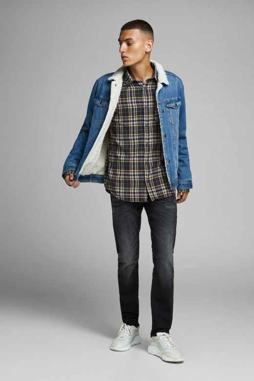 Camisa Homem BROOK Xadrez JACK JONES