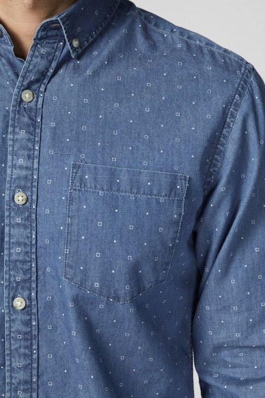 Camisa Homem MARLEY DENIM Jack Jones