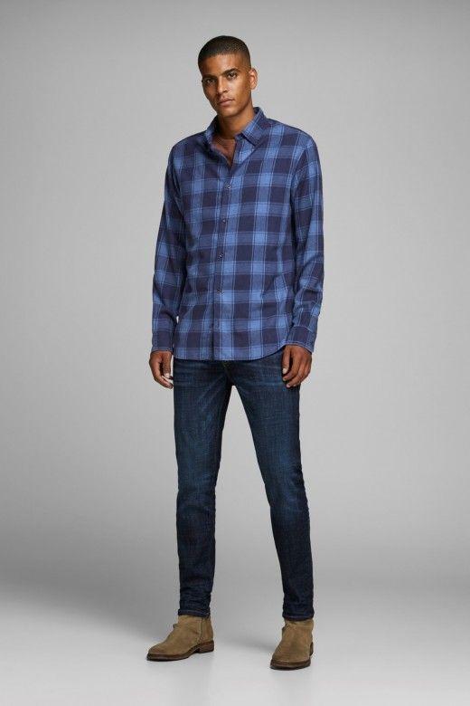 Camisa Homem Xadrez TOMMY JACK JONES Slim