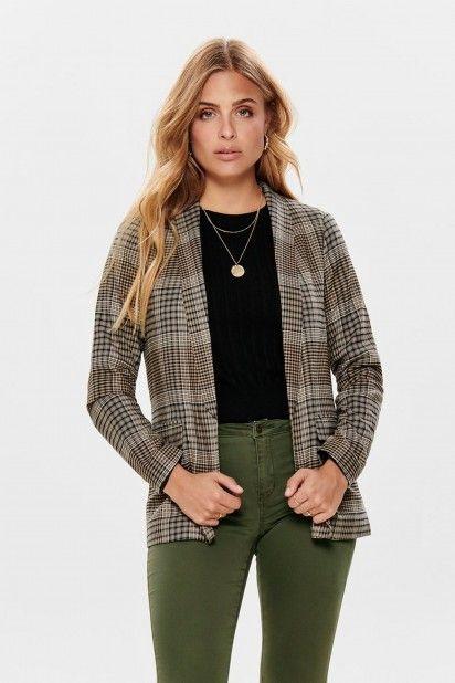 Blazer Mulher LENA S/L CHECK ONLY