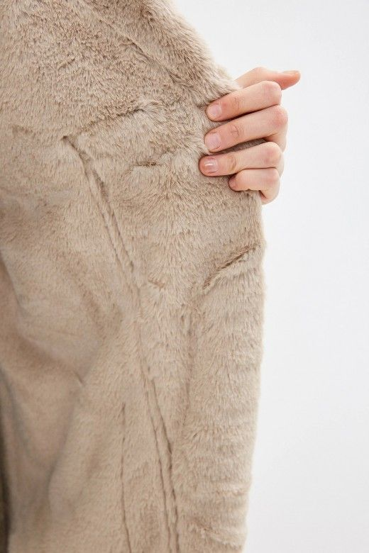 Casaco Mulher EMMA Bonded Faux Suede ONLY