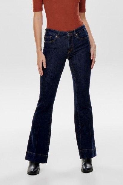 Calça Mulher Jeans BLOOM Reg Flared ONLY