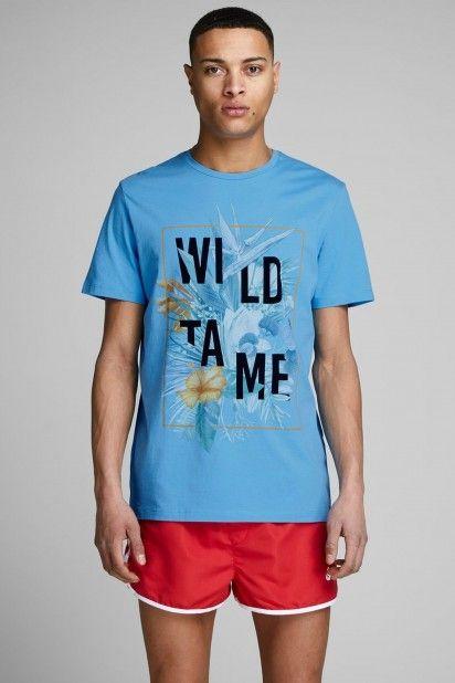 T-Shirt Homem SPAINS JACK JONES