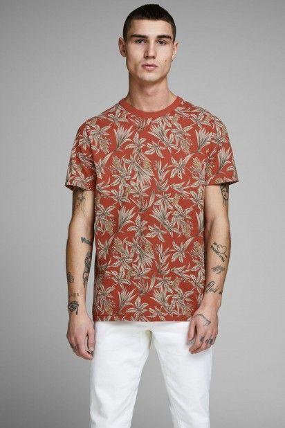 T-Shirt Homem CALEB BLU PREMIUM
