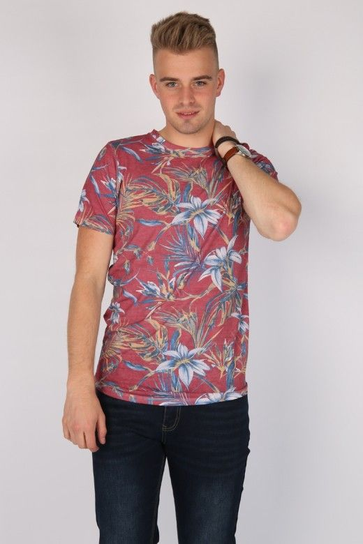 T-Shirt Homem ZEQ Jack Jones