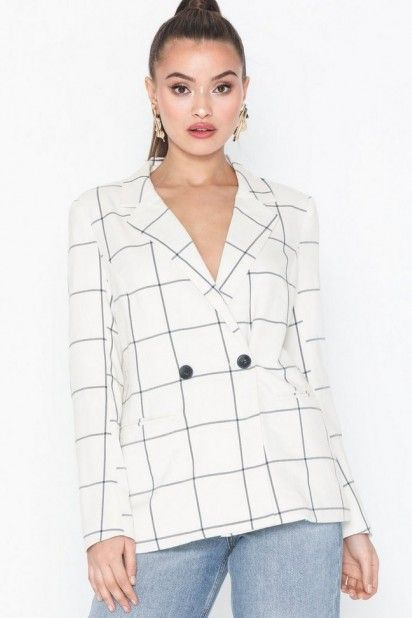 BLAZER MULHER ROSARIA CHECK ONLY