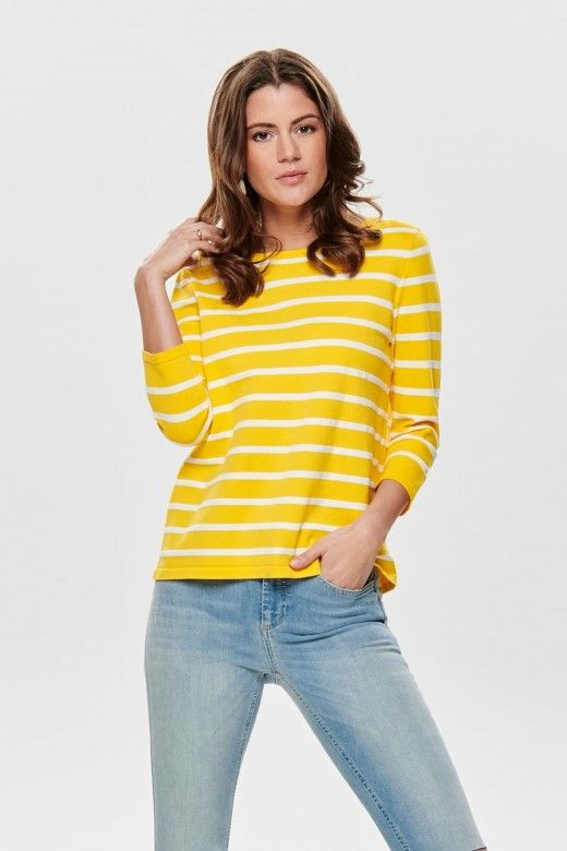 CAMISOLA MULHER MINNA 3/4 ONLY