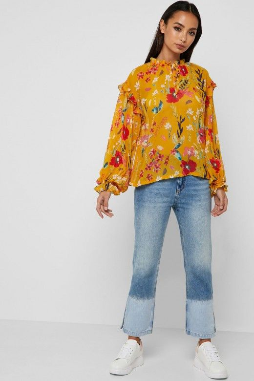 TOP MULHER NORA Print Floral ONLY