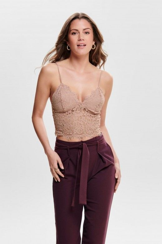 Top Mulher CASSIA CROPPED ONLY