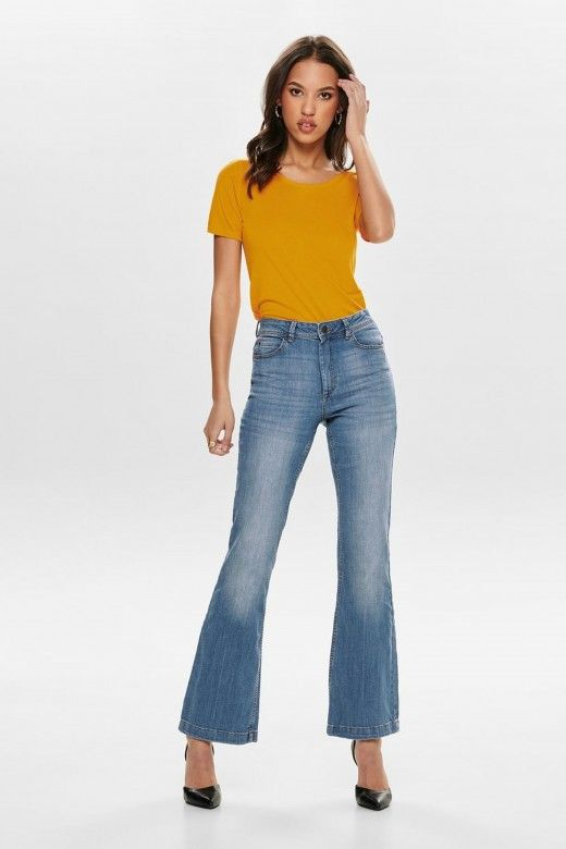 Top Mulher CARRIE S/S JRS ONLY