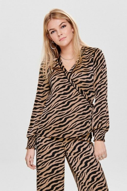 TOP MULHER ZEBRA ONLY