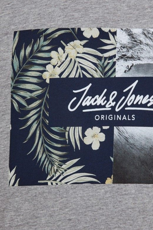 T-Shirt Homem TROPIC Jack Jones