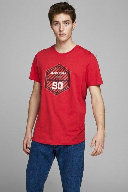 T-Shirt Homem FRIDAY-DISC Jack Jones