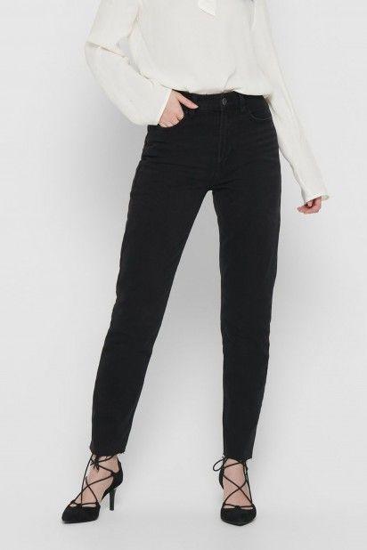 Calça Jeans Mulher EMILY Preta ONLY