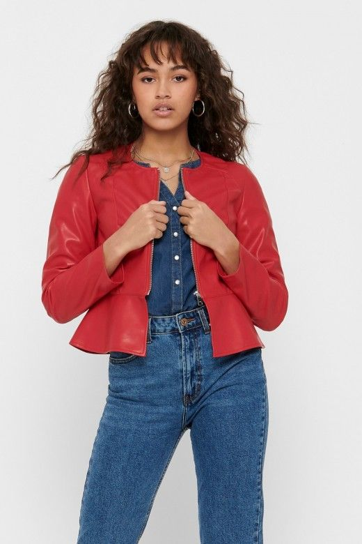 Casaco Mulher JOSIE FAUX LEATHER ONLY
