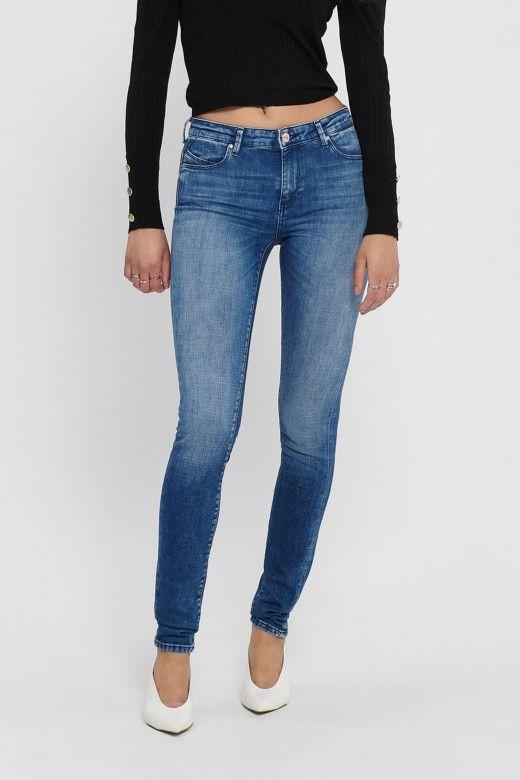 Calça Mulher Jeans ISA REG SKINNY ONLY