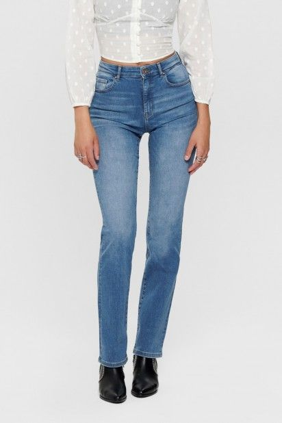 Calça Mulher Jeans NAHLA WH STRAIGHT ONLY