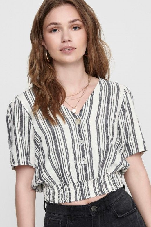 Top Mulher ALFINA Cropped ONLY