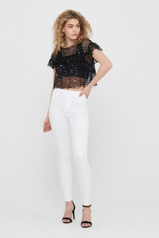 Top Mulher OLGA S/S SEQUIN ONLY