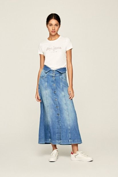 T-Shirt Mulher BEATRICE Pepe Jeans