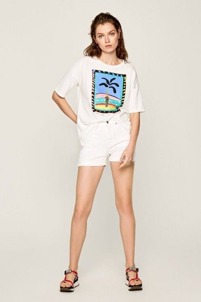 T-Shirt Mulher LALI Pepe Jeans