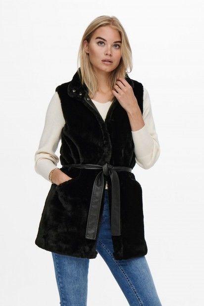 COLETE MULHER FAUX FUR ONLY
