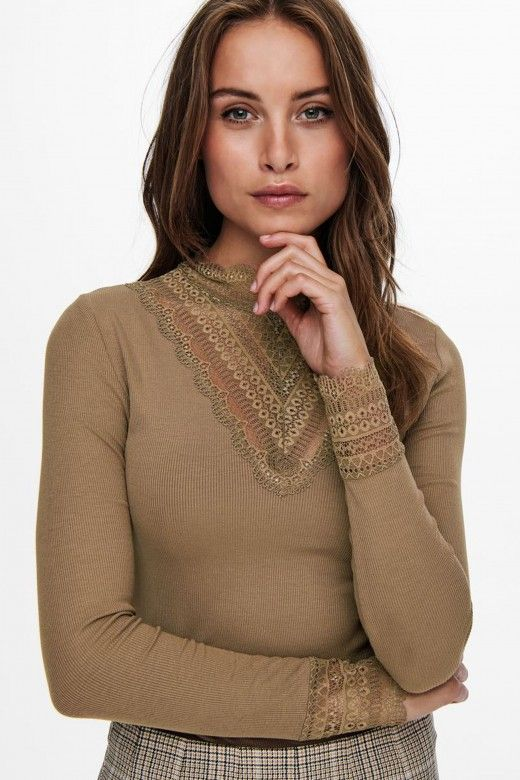 Top Mulher TILD JRS LACE ONLY