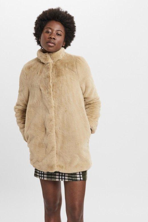 Casaco Thea Faux Fur