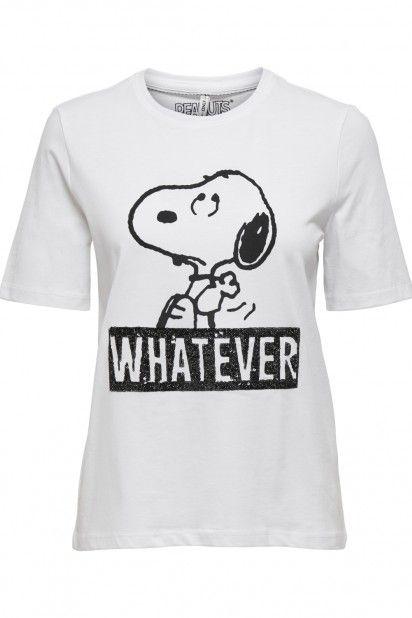 T-shirt Senhora Peanuts Only